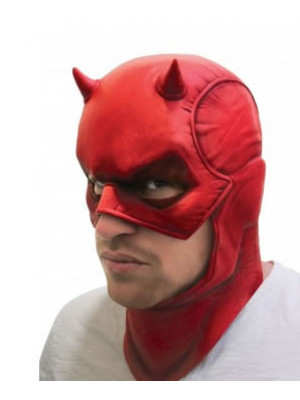Daredevil Latex Mask Adult
