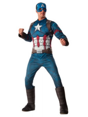 Captain America Adult Standard