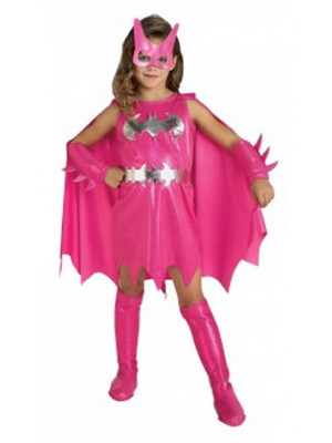 Batgirl Pink - Child Medium