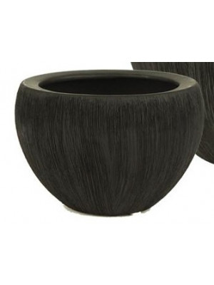 "Bowl 4 1/2"" Hi Satin Black"