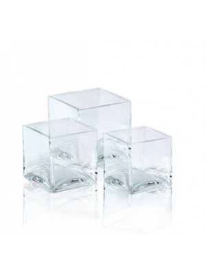 "4"" Hi Cube 4x4"" Top Clear"